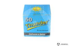 Cartucce a salve Thunder calibro 9mm PA Knall - 50 pezzi