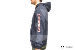 Giacca Felpa Browning Snapshot Navy taglia 3XL lato