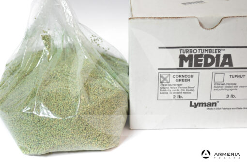 Graniglia Lyman Turbo Tumbler Media Corncob - Verde
