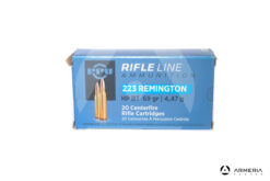 PPU Prvi Prtizan Rifle Ammunition calibro 223 Remington - 69 grani HP BT - 20 cartucce