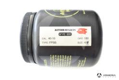 Palle ogive Action Bullets calibro 40 180 grani FPBB Size 400 - 500 pezzi lato