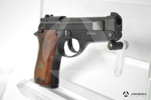 """Pistola semiautomatica Beretta modello 86 calibro 9 Short Canna 4"""" mirino"""