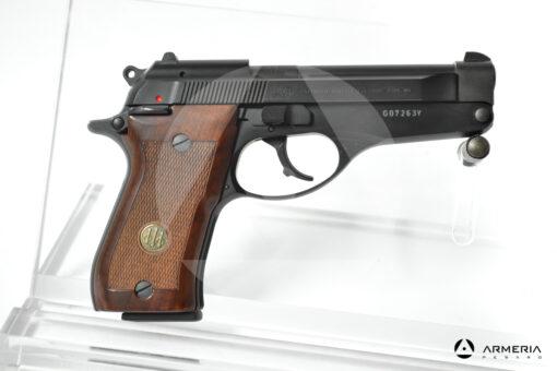 """Pistola semiautomatica Beretta modello 86 calibro 9 Short Canna 4"""" lato"""