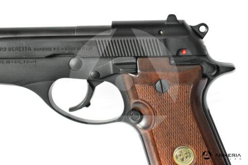 "Pistola semiautomatica Beretta modello 86 calibro 9 Short Canna 4"" macro"