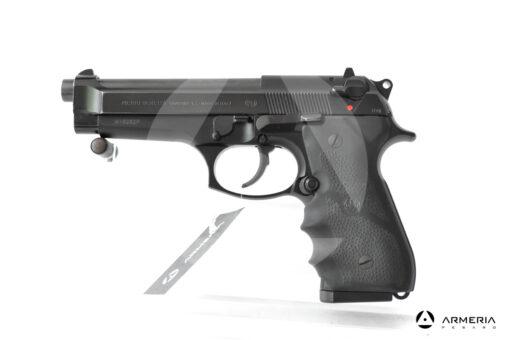 Pistola semiautomatica Beretta modello 98 FS calibro 9×21 canna 5″ usata lato