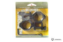 Supporti ad anello Accushot 30mm Alti #RGPM-30H4