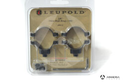 Supporti ad anello Leupold QR quick release Rings 30mm high matte #49932