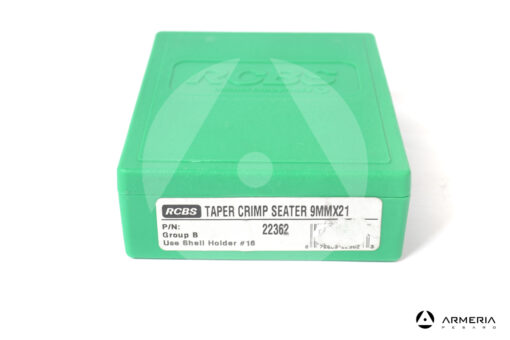 Taper Crimp Seater Dies RCBS calibro 9mmx21 Gruppo B #22362