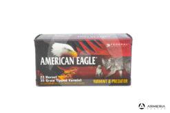 Federal American Eagle calibro 22 Hornet - 35 grani - 50 cartucce