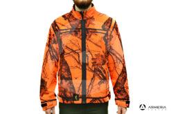 Giacca reversibile in Pile Browning Ultimate Activ Orange - taglia L