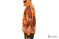 Giacca reversibile in Pile Browning Ultimate Activ Orange - taglia L lato