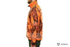 Giacca reversibile in Pile Browning Ultimate Activ Orange - taglia XXL lato