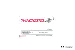 Winchester Target calibro 30-06 Springfield 147 grani FMJ - 20 cartucce