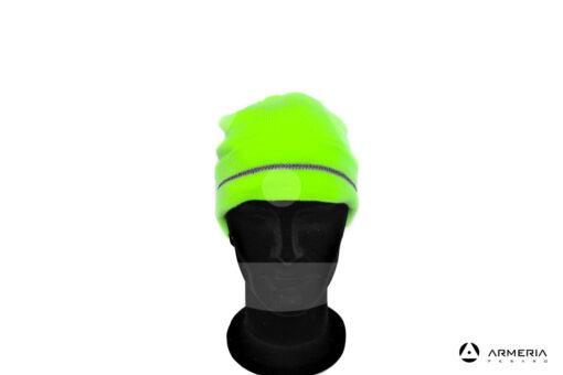 Cappello berretto giallo fluo 3 Cime taglia unica