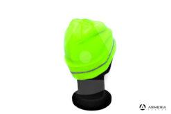 Cappello berretto giallo fluo 3 Cime taglia unica retro