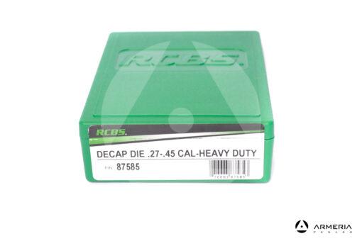 Dies Decap Die RCBS calibro 27 - 45 #87585