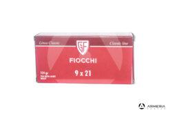 Fiocchi Linea Classic calibro 9x21 FMJ 124 grani - 50 cartucce