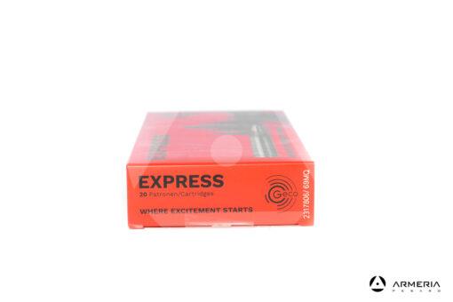 Geco Express calibro 30-06 165 grani - 20 cartucce lato