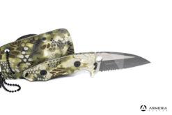 Coltello K25 a lama fissa in acciaio 7.2 cm